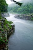 Mountain river.Long Exposure Stock Photography
