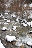 Mountain river in Ordino. Andorra.  Royalty Free Stock Image