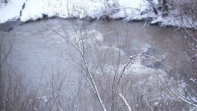 Mountain river stock video
