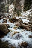 The mountain river. Stock Photography