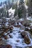 The mountain river. Royalty Free Stock Photo