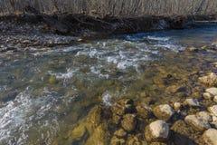 The mountain river Stock Photo