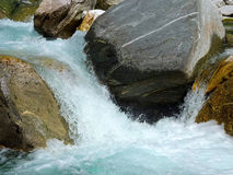 Mountain river, Switzerland Stock Image