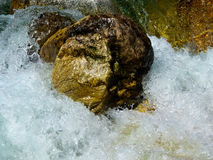 Mountain river, Switzerland Royalty Free Stock Photos