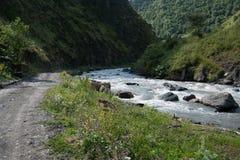 Mountain river Stock Photography