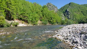 Mountain river.  Turkey. stock video footage