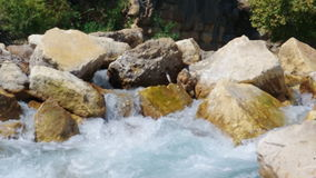 Mountain river.  Turkey. stock video