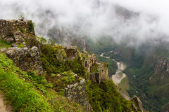 Mountain river Urubamba Royalty Free Stock Images