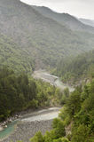 The mountain river Voidomatis royalty free stock image