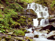 Mountain River Waterfall Royalty Free Stock Photo