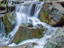 Mountain river waterfall Royalty Free Stock Photography