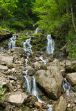 Mountain River Waterfall Stock Images