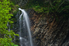 Mountain River Waterfall Stock Photography