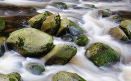Mountain river waterfall Royalty Free Stock Photos