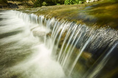 Mountain with river waterfall Royalty Free Stock Photography