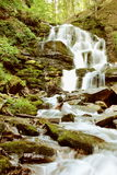 Mountain River Waterfall Vertical Royalty Free Stock Photo