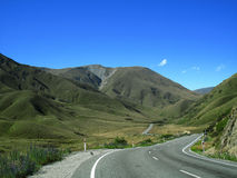 Mountain Road royalty free stock image