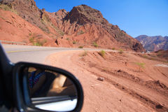 Mountain road. Stock Images