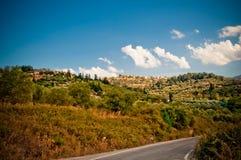 Mountain road  . Stock Photo