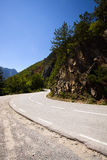 The mountain road Royalty Free Stock Photography