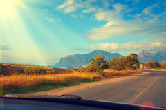 Mountain Road Royalty Free Stock Photography