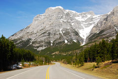 Mountain and road Stock Photography
