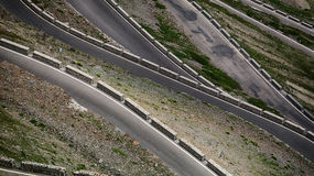 Mountain Road Abstract Royalty Free Stock Images