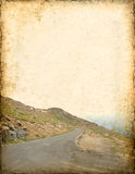 Mountain Road Background Royalty Free Stock Images