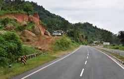 Mountain Road Stock Image