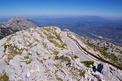 Mountain road in Biokovo nature park Stock Photo