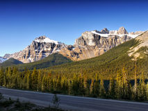 Mountain Road, Canada Stock Images