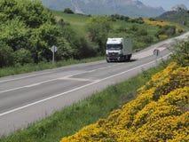 MOUNTAIN ROAD EUROPE Stock Image