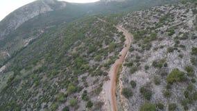 Mountain Road 2 stock video