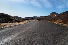 Mountain road, Iceland. Stock Photography