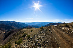 Free Mountain Road In Early Spring, Mount Stolovi Royalty Free Stock Image - 42892166