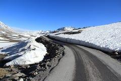Mountain Road In Ladakh. Stock Photo