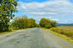Mountain road. Royalty Free Stock Photo