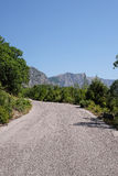 Mountain road Stock Photography