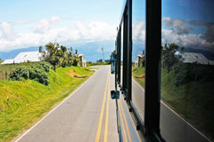 Mountain road in Monteverde Royalty Free Stock Photography