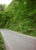 Mountain road. Royalty Free Stock Photography