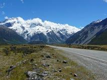 Mountain road, New Zealand Stock Photo