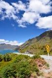 Mountain Road New Zealand Royalty Free Stock Photo