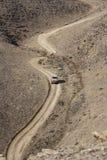 The mountain road in Siberia Stock Image