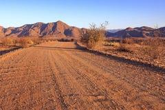 Sunset in Namibia Stock Image
