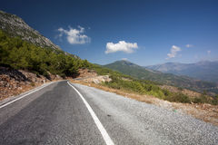 Mountain Road, Taurus(Toros) Mountains Stock Image