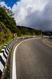 Mountain road. Road on the mountain of Thailand Stock Image