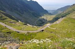 Mountain Road. / Transfagarasan road in summmer Stock Photography