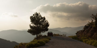 Mountain road in Turkey Stock Image