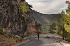 Mountain road in Turkey Stock Photos