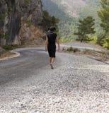 Mountain road in Turkey Royalty Free Stock Photos